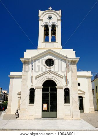 Church of Our Lady of the Angels in Rethymnon Crete Greece