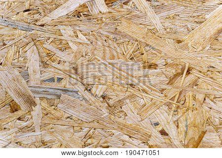 Rough Chipboard as wallpaper - in detal