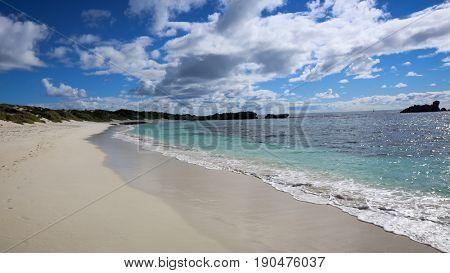 Beach on Rottnest Island, Western Australia