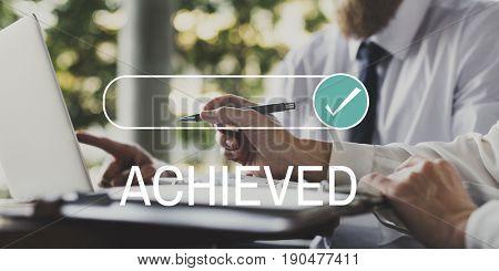 Achieved Accomplishment Goal Success Mission