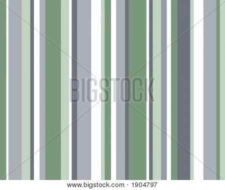 Blue, Green & White Striped Background