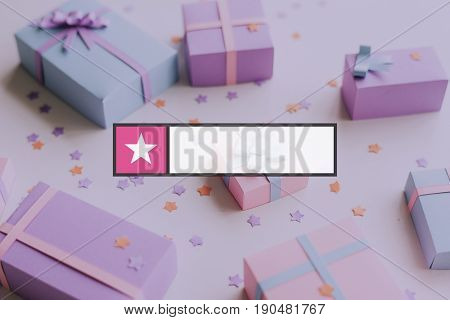 Star Favorite Box Banner Graphic