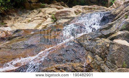 Small Waterfall On Koh Phangan
