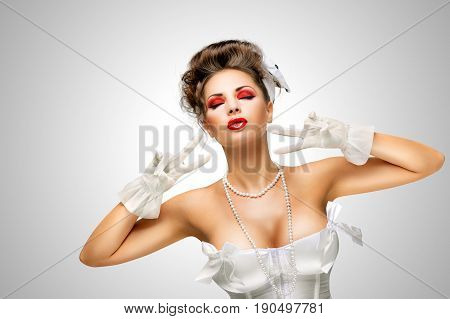 Glamorous Gesture.