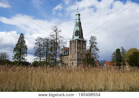 Moated Castle Raesfeld (germany) - Total View