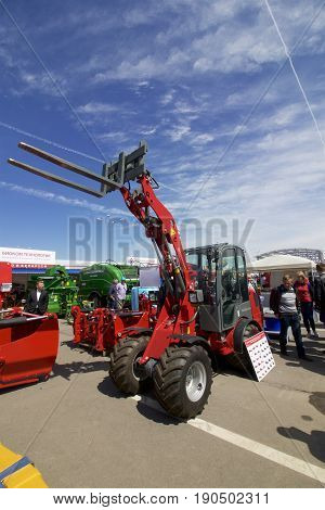 Minsk, Minskaya/belarus - 08 June 2017: 27Th International Specialized Exhibition