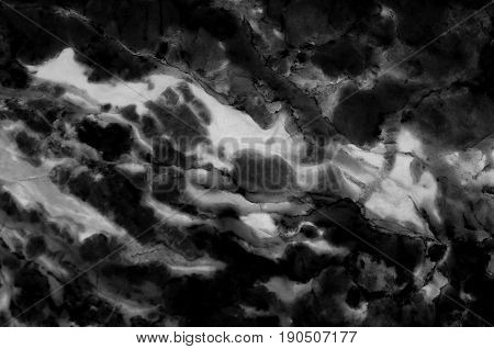Black and white marble texture (Pattern for backdrop or background, Can also be used create surface effect to architectural slab, ceramic floor and wall tiles)