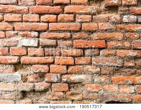 old brick wall as a background concept
