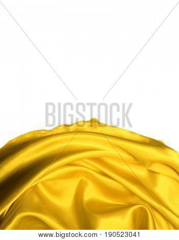 Yellow silk. Gold silk