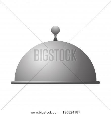 Dish dome restaurant icon vector illustration graphic design