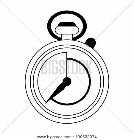chronometer silhouette illustration icon vector design graphic