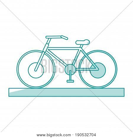 bycicle shadow illustration icon vector design graphic