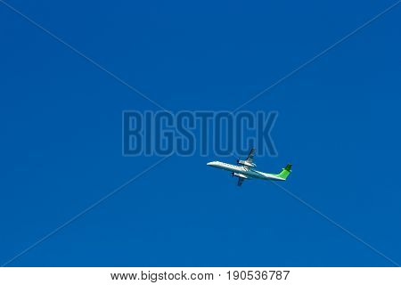 Passenger Aircraft In The Sky