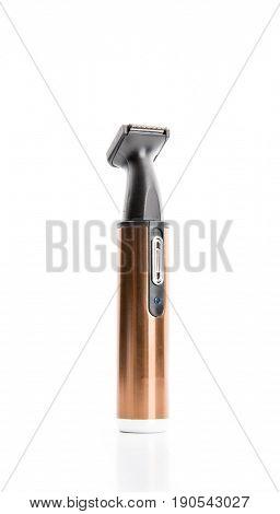 Electric hair cutter, wireless clipper closeup