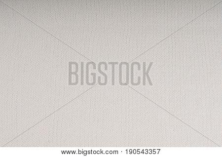 White texture flat photo of textile background