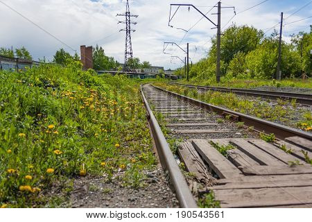 The Rails For The Railway