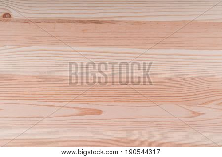 Wooden pine board top view with copy space perfect for background