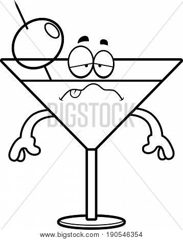 Sick Cartoon Martini