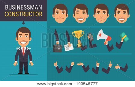 Constructor Character Businessman