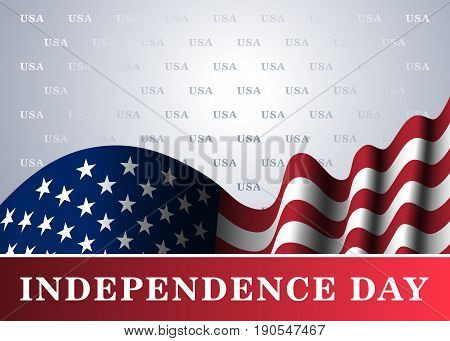 Independence Day Usa Background Flag