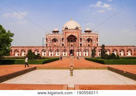 Humayun's Tomb Delhi India in day light