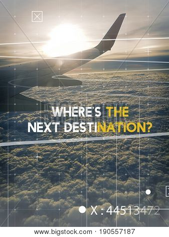 Where is The Next Destination Travel Journey Expedition Motivation