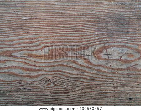 Old Wooden Surface With Knots.