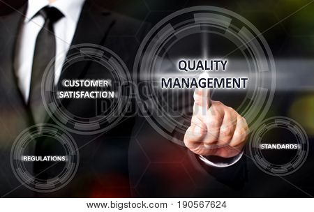 Concept For Quality Management On Virtual Screen