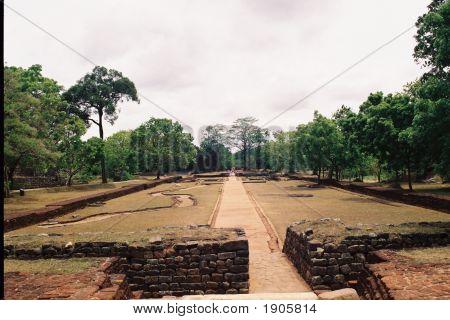 Ancient Architecture Of Sigiriya In Sri Lanka