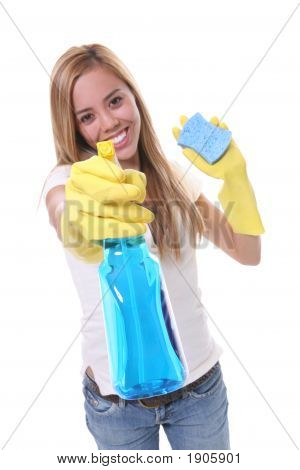 Pretty Woman Cleaning