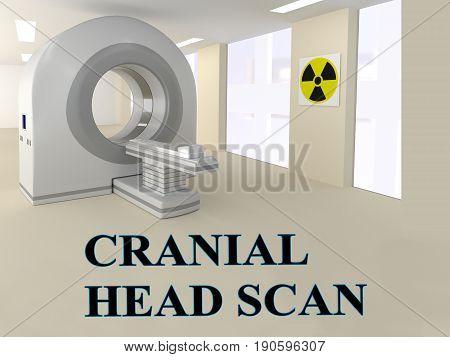 Cranial Head Scan Concept