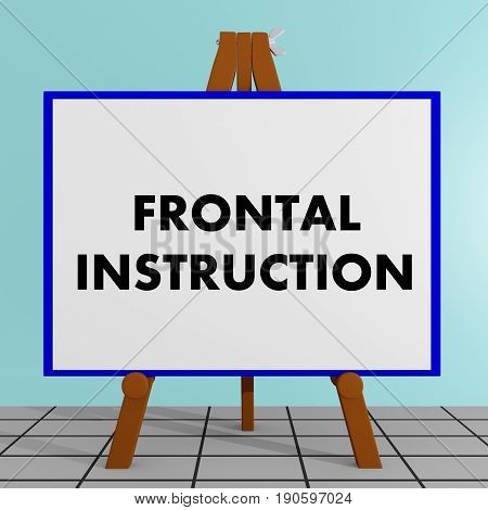 Frontal Instruction Concept