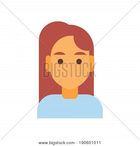 Profile Icon Male Emotion Avatar, Man Cartoon Portrait Silent Face Vector Illustration