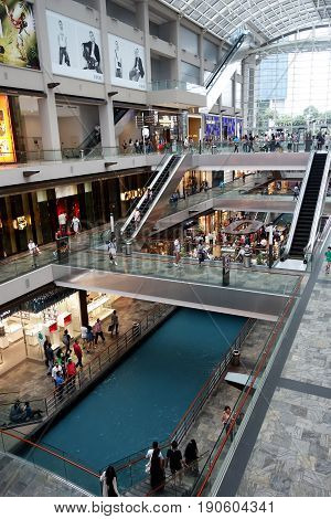 The Shoppes At Marina Bay Sands, Singapore