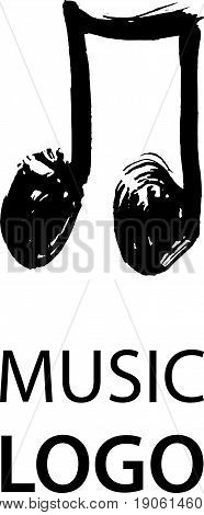 Music Note Logotype