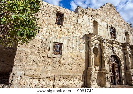Fort Alamo in San Antonio Texas United States