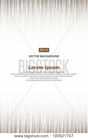 Black and white Abstract vertical striped pattern. Vector illustration. copy space for print ad magazine brochure leaflet poster