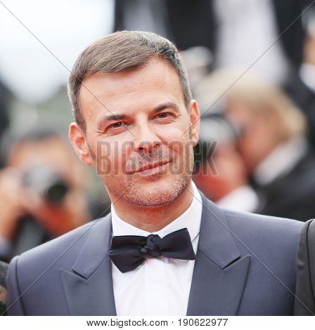 Francois Ozon attends 'Amant Double (L'Amant Double')' Red Carpet Arrivals during the 70th annual Cannes Film Festival at Palais des Festivals on May 26, 2017 in Cannes, France.