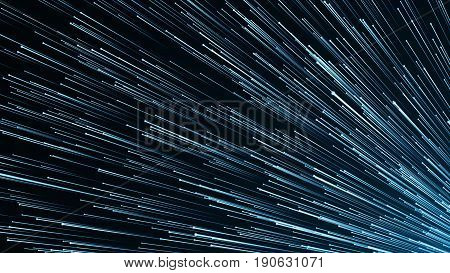 Abstract Background With Optical Fibres. Digital Backdrop