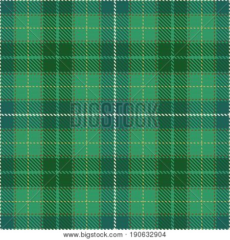 Tartan Seamless Pattern Background. Red Green Yellow and White Plaid Tartan Flannel Shirt Patterns. Trendy Tiles Vector Illustration for Wallpapers.