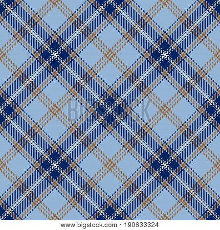 Tartan Seamless Pattern Background. Yellow Blue and White Plaid Tartan Flannel Shirt Patterns. Trendy Tiles Vector Illustration for Wallpapers.