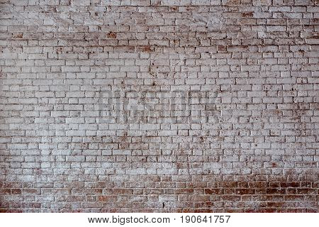 Empty Old Brick Wall Texture.