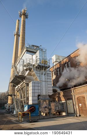 View on Fumes ventilation system - Poland.