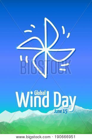 Global Wind Day 2017, June 15