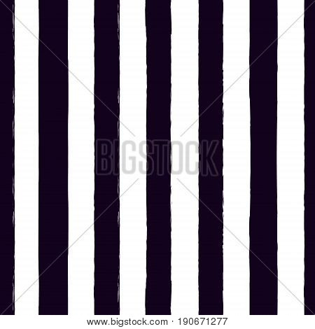 Seamless pattern with stripes. Striped vertical brush strokes texture background. Vector illustration.