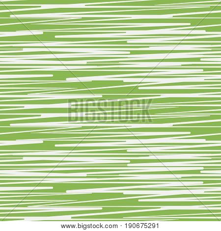 Abstract scratched greenery seamless pattern. Color of year 2017 texture. Vector illustration.
