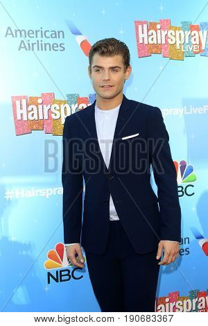 LOS ANGELES - JUN 9:  Garrett Clayton at the NBC's 'Hairspray Live!' FYC Event at the ATAS Saban Media Center on June 9, 2017 in North Hollywood, CA