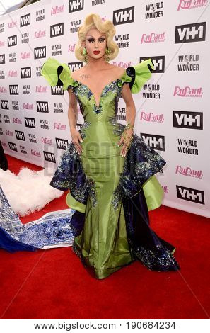 LOS ANGELES - JUN 9:  Trinity Taylor at the RuPauls Drag Race Season 9 Finale Taping at the Alex Theater on June 9, 2017 in Glendale, CA