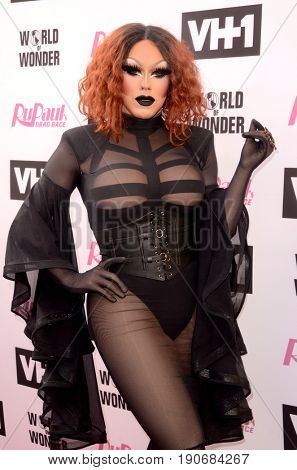 LOS ANGELES - JUN 9:  India Ferrah at the RuPauls Drag Race Season 9 Finale Taping at the Alex Theater on June 9, 2017 in Glendale, CA