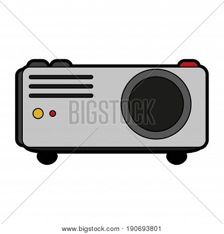 video projector icon image vector illustration design